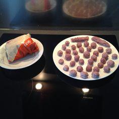 Fake meatballs