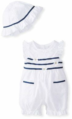 Little Me Baby-Girls Newborn Eyelet Daisy Sunsuit and Hat, White/Navy, 3 Months Little Me,http://www.amazon.com/dp/B00GUJY736/ref=cm_sw_r_pi_dp_fi3Ctb1N0BJ1119A