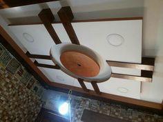 Interior Ceiling Design, House Ceiling Design, Ceiling Design Living Room, Bedroom False Ceiling Design, House Design, Living Room Partition Design, Room Partition Designs, Gypsum Ceiling, Roof Ceiling