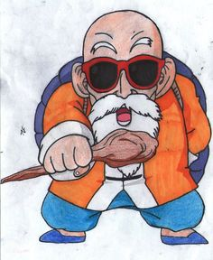 Chibi master Roshi