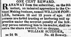 1821. William Fowler