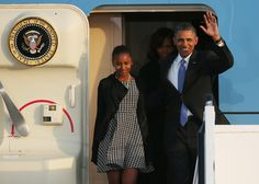 Michelle Obama Photos - Barack Obama and His Family Arrive in Berlin - Zimbio