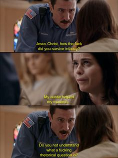 Please excuse the terrible language! This was hilarious! Orange Is the New Black