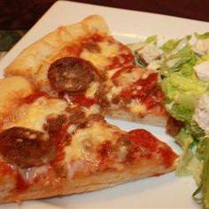 Deep-Dish Cast Iron Pizza Recipe