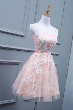 d174e2f963 Beautiful Ivory Wedding Dress, Lace Wedding Dress, Blush Wedding Dress,  Wedding Dress Short