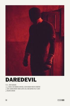 Daredevil alternative TV poster Print available HERE