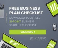 Download your free 21 point business startup checklist