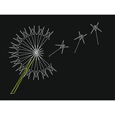 Dandelion String Art Fun pattern