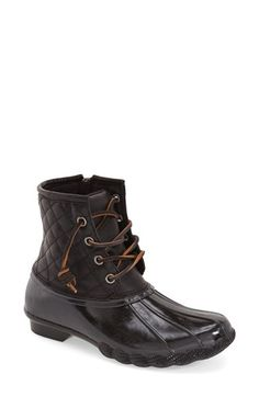 Free shipping and returns on Steve Madden 'Tillis' Rain Boot (Women) at Nordstrom.com. Take on the rain in style with this chic boot featuring a quilted leather upper and soft leather laces.