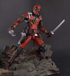 Deadpool (MCU Style) (Marvel Legends) Custom Action Figure by Shinobitron Base figure: Ant Man
