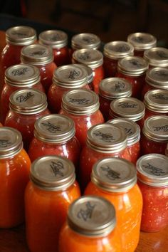 Recipe for Canning Tomatoes