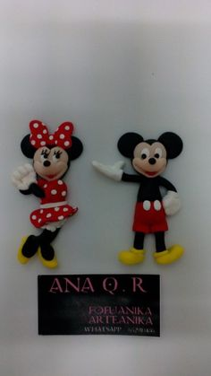 Mickey & minnie fimo arteanika