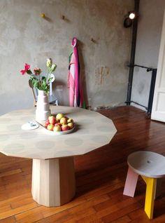Dutch designers Carole Baijings and Stefan Scholten's furniture (for Japanese company Karimoku New Standard) - via Inside Out