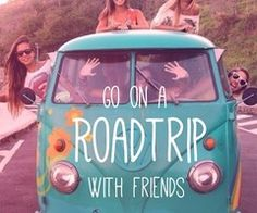 road trip | already have plans :)
