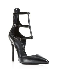 Kendall Kylie Abi Suede Single Sole Pointed Toe Pumps ...