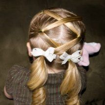 Tons of KIDS Hairstyles. So gonna do this for my sister's mini cheerleading buddies