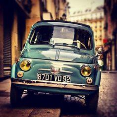 Vintage Fiat 500, zoals ze horen te zijn!