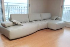 L-Shape Leather Sofa - Madeira Max2613