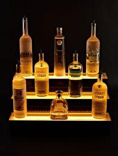 LED+Liquor+Bottle+Shelves+Display                                                                                                                                                      More