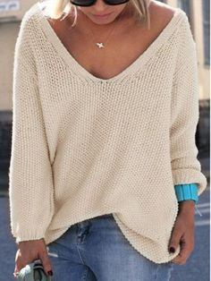 sweater chiclook closet casual trendy cream beige fall outfits fall sweater girly back to school fashion style sunglasses streetstyle instagram indie cute pastel knitwear knitted sweater