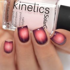 Have you tried this kind of ombre? It looks very nice and the colors are beautifully spilling over to each other.
