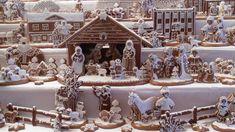 Multi-layered Gingerbread Nativity creation!