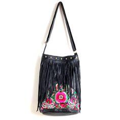 Boho Fringe Bag, £129.60, now featured on Fab.