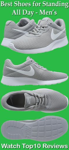 11a2e1d3966 Nike Mens Tanjun Running Sneaker is the best shoes for standing all day  long.