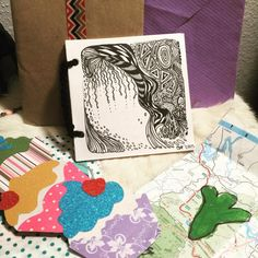 My first Deco book is about to be sent out into the world! And of course it's another Zentangle XD