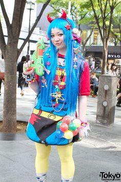harajuku style | Super-Cute & Colorful Harajuku Street Fashion
