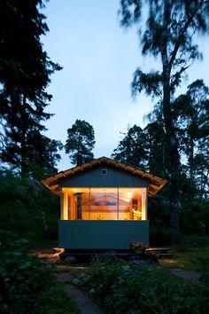 14m2 summer hut in Helsinki, Finland.