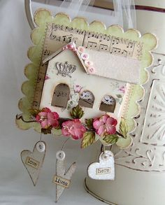 just beautiful ♥ Made by Michele Phillips of Lilybean's Paperie