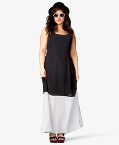 Trendy Plus Size Fashion for Women: Maxi Dresses