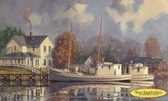 Peaceful Harbor by John Barber