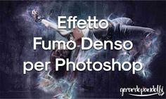 Un interessante effetto fumo denso da usare come azione per photoshop, il quale ci permetterà di dare un tocco particolare alle nostre immagini.