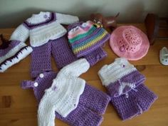 Seasoned Just Right Free Crochet Doll Clothes Patterns Some of the best doll crochet and clothing for your dolls can be found online. From... #crochetdolls