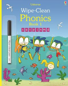 Wipe-clean phonics book 1 £3.99 (save  £2). Comment to order or email jane@quackquackbooks.co.uk