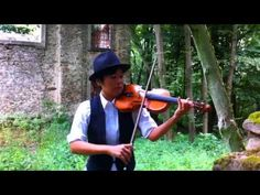 Chiaki Yamazaki 'Rock Caprice' I explor violin`s technical ability with modern style music.the recording place is a ruins of church in Czech Republic.Enjoy!