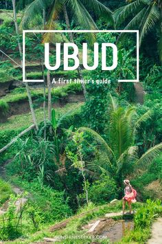 A first timer's guide to Ubud, Bali. Everything you need to know about where to go and what to do. Start your trip planning here!