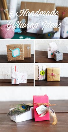 Mix things up this year with 5 Handmade Giftwrap Ideas inspired by the #Ziploc #HolidayCollection.