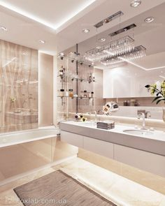 24 New Ideas for bath room beige modern Condo Bathroom, Modern Bathroom, Bathroom Renos, Bathroom Layout, Bathroom Remodeling, Small Bathroom, Bathroom Ideas, Dream Bathrooms, Dream Rooms