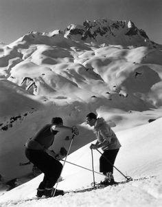 Atelier Robert Doisneau |Galeries virtuelles desphotographies de Doisneau - Montagne