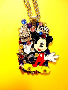 Character Dog Tag Pendant Number 1224 by BradosBling on Etsy, $39.99