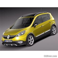 Renault Scenic Xmod 2014 - 3D Model