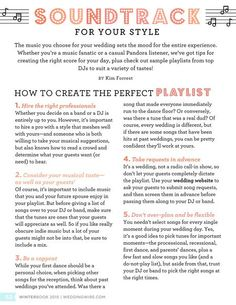 How to create the perfect playlist