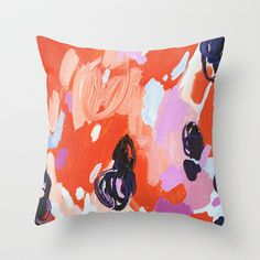 Pie+For+Breakfast+Throw+Pillow+by+Emily+Rickard+-+$20.00 - 2 of these for the couch would be perfect!