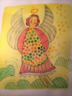 Moderlig ängel