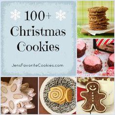 100 Christmas Cookies