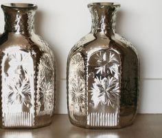 Paire de vases en verre de Murano, circa 1930, ANTINA Market, Proantic