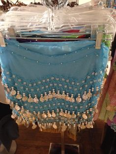 Coin Scarves foe everyone and not just for Belly Dancers anymore.  We now have plus size coin scarves too.